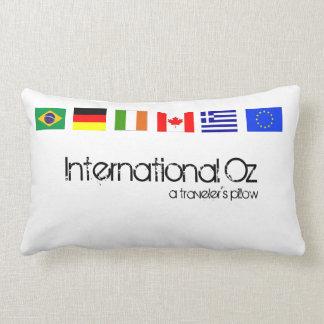 Onza internacional - Almohada del viaje