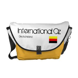 Onza internacional - Bolso del viaje de Alemania Bolsa De Mensajeria