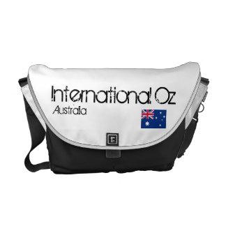 Onza internacional - Bolso del viaje de Australia Bolsas Messenger