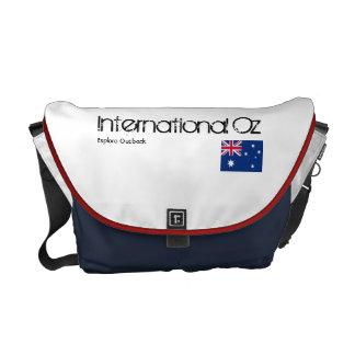 Onza internacional - Bolso del viaje de Australia Bolsa Messenger