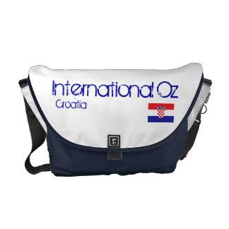 Onza internacional - Bolso del viaje de Croacia Bolsa De Mensajeria