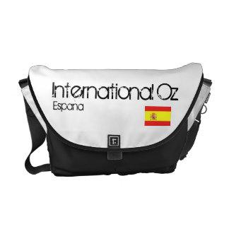Onza internacional - Bolso del viaje de España Bolsa De Mensajería