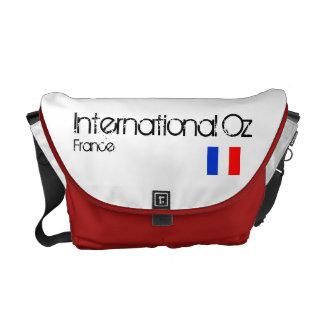 Onza internacional - Bolso del viaje de Francia Bolsa De Mensajería
