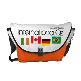 Onza internacional - Bolso global del viaje de la Bolsas De Mensajería