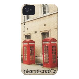 Onza internacional - Caso del iPhone del Backpacke Case-Mate iPhone 4 Cárcasas