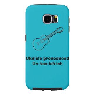oo-koo-leh-leh (ukulele) samsung galaxy s6 cases
