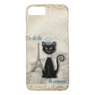 Oo-la-la French Kitty Princess iPhone 8/7 Case