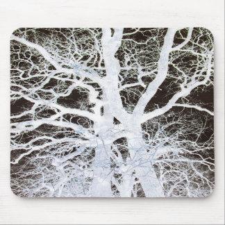 Ooak Tree Mousepad Inverted Image