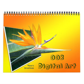 OOB 3D Digital Art Calendar