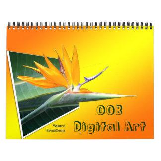 OOB 3D Digital Art Calendar