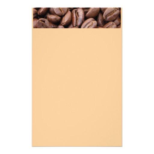 Oodles de los granos de café papeleria