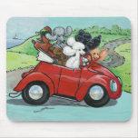 Oodles del convertible Mousepad del vintage de los Alfombrilla De Raton