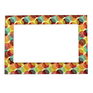 Oodles of Dots Magnetic Photo Frame - Warm