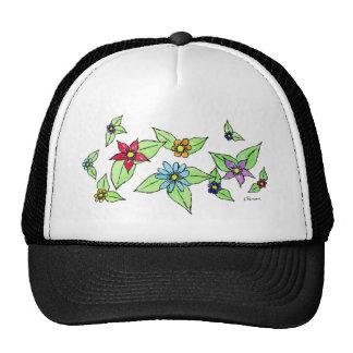 Oodles of Flowers Mesh Hat
