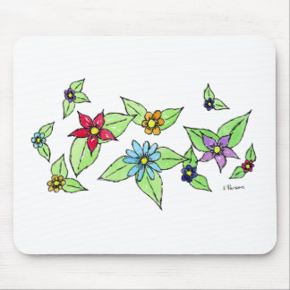 Oodles of Flowers Mouse Pad
