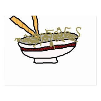 Oodles of Noodles Postcard