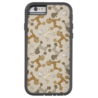 """Oodles of Poodles"" French Poodle iPhone Case"