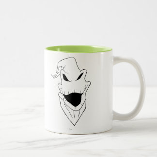 Oogie Boogie | Grinning Face Two-Tone Coffee Mug