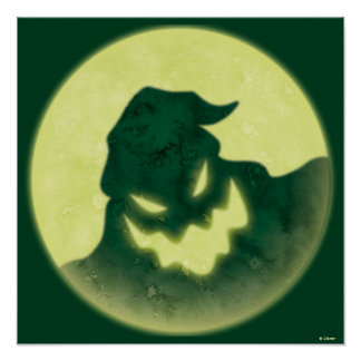 Oogie Boogie | I'm The Boogie Man Poster
