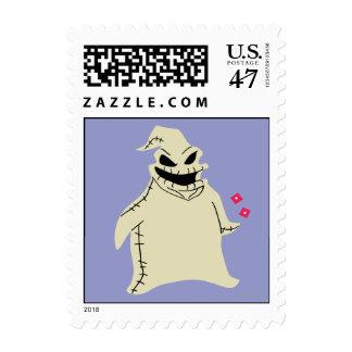 Oogie Boogie Postage Stamp