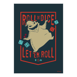 Oogie Boogie | Roll The Dice Poster