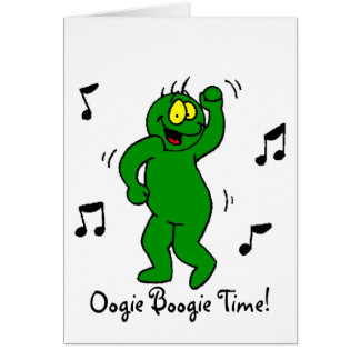Oogie Boogie-Romance Greeting Card