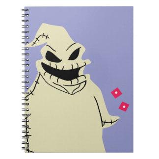 Oogie Boogie Spiral Notebook