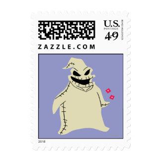 Oogie Boogie Stamp