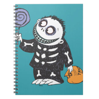 Oogie's Boys   Barrel With Candy Notebook