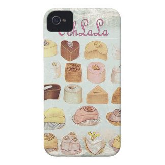 ooh la la bakery  pastry chocolate french cafe iPhone 4 case