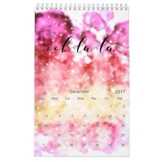 Ooh-La-La Calendar