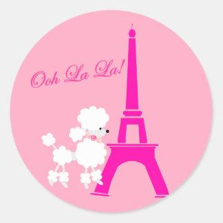 ♥ Ooh La La! ♥ Classic Round Sticker