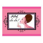 OOh La La DIVAtude! Postcard