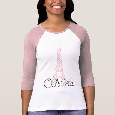 heartlocked Ooh la la Eiffel Tower T-Shirt