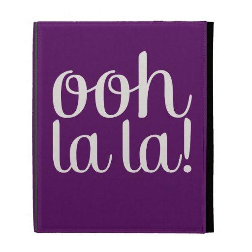 Ooh La La iPad Folio Cover