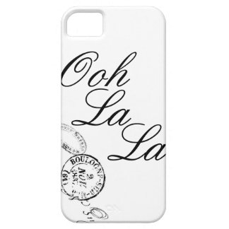 Ooh La La iPhone 5 Case in Black and White