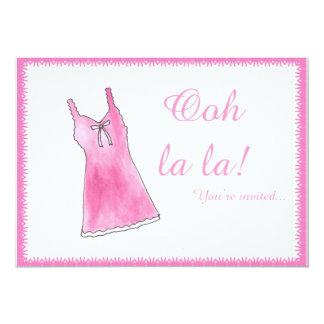 """Ooh La La!"" Lingere Shower Invitation"