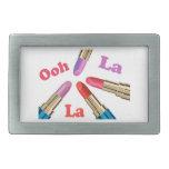 Ooh La La Luscious Lipstick Belt Buckle