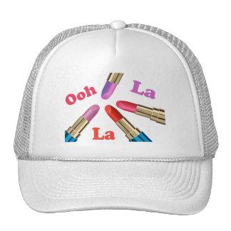 Ooh La La Luscious Lipstick Trucker Hat