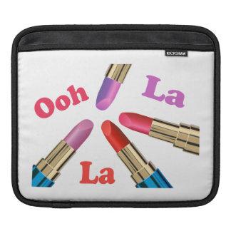 Ooh La La Luscious Lipstick Sleeve For iPads