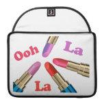 Ooh La La Luscious Lipstick Sleeves For MacBooks