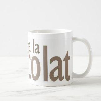 Ooh la la classic white coffee mug