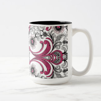Ooh La La Two-Tone Coffee Mug