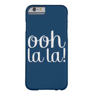 Ooh La La Navy Barely There iPhone 6 Case