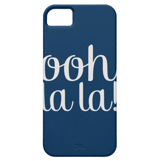 Ooh La La Navy iPhone SE/5/5s Case