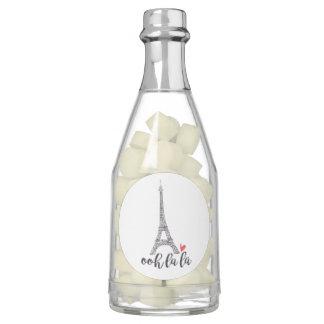 Ooh la la Paris Champagne Bottle Favors Chewing Gum