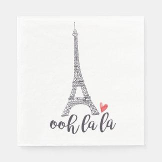 Ooh la la Paris Napkins