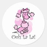 Ooh La La Poodle Sticker