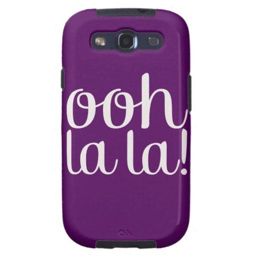 Ooh La La Purple Galaxy SIII Covers