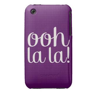 Ooh La La Purple iPhone 3 Cases